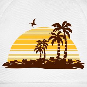 sunset island Tee shirts - Casquette classique