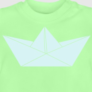 papier origami boot Pullover & Hoodies - Baby T-Shirt