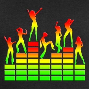 Dancing girls - Equalizer - EQ -  Music - Reggae Tee shirts - Sweat-shirt Homme Stanley & Stella