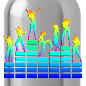 Dancing girls - equalizer - EQ -  music - sound Bluzy - Bidon