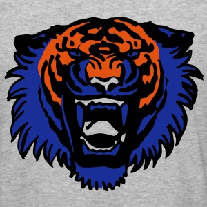 Roaring Tiger Three Colours by Cheerful Madness!! Hoodies & Sweatshirts - Men's Slim Fit T-Shirt