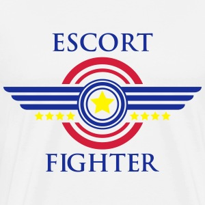 Escort fighter Pullover & Hoodies - Männer Premium T-Shirt