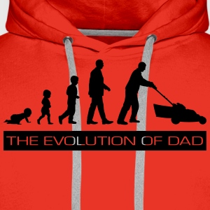 The Evolution of Dad Shirts - Men's Premium Hoodie