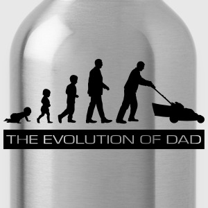 The Evolution of Dad Shirts - Water Bottle