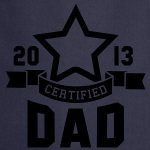 CERTIFIED DAD 2013 STAR Daddy T-Shirt HN - Cooking Apron