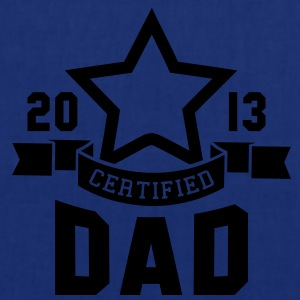 CERTIFIED DAD 2013 STAR Daddy T-Shirt HN - Borsa di stoffa