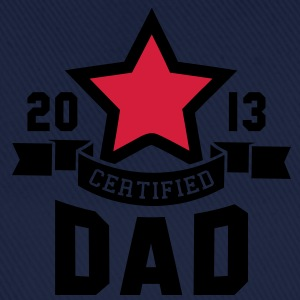 CERTIFIED DAD 2013 STAR Daddy 2C T-Shirt WR - Baseballcap