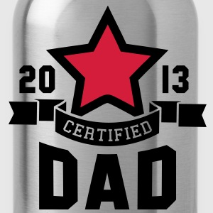 CERTIFIED DAD 2013 STAR Daddy 2C T-Shirt WR - Borraccia