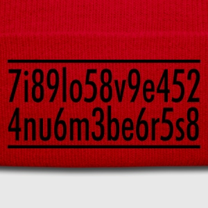 I love numbers T-shirts - Winterhue