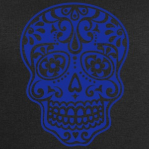Mexican skull, floral pattern - Days of the Dead T-Shirts - Men's Sweatshirt by Stanley & Stella