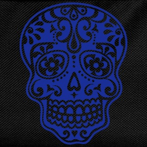 Mexican skull, floral pattern - Days of the Dead T-Shirts - Kids' Backpack