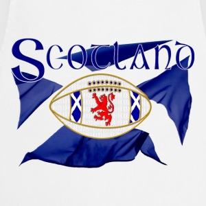 Scotland rugby lion oval ball Shirts - Cooking Apron