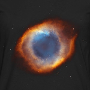 Space - Ring Nebula T-Shirts - Men's Premium Longsleeve Shirt