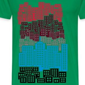 Green City  Aprons - Men's Premium T-Shirt