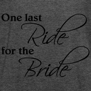 One last ride for the Bride Bluzy - Tank top damski Bella