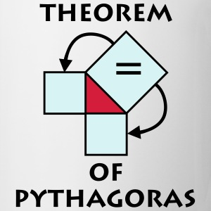 theorem_of_pythagoras_p1 Magliette - Tazza
