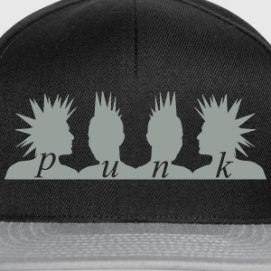 Punk Heads T-Shirts - Snapback Cap
