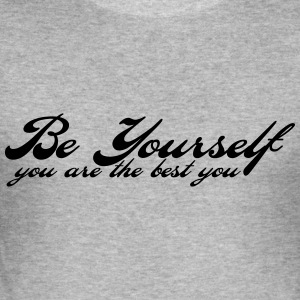 be yourself Sweaters - slim fit T-shirt
