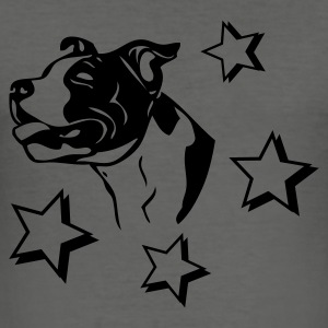 www.dog-power.nl - Männer Slim Fit T-Shirt