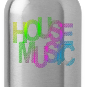 House Music T-Shirts - Trinkflasche
