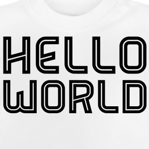 Hello World Shirts - Baby T-Shirt