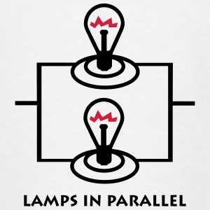 lamps_in_parallel_p1 T-Shirts - Kinder T-Shirt