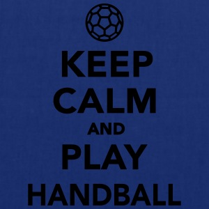 Keep calm and play Handball T-Shirts - Stoffbeutel