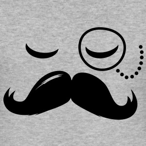 Like a retro swag style moustache hipster boss Pullover & Hoodies - Männer Slim Fit T-Shirt