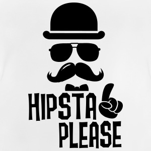 Like a fun hipsta please hipster moustache Shirts - Baby T-shirt