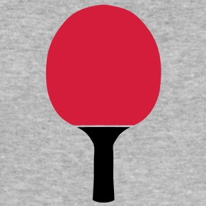 raquette pingpong tennis table racket Sweat-shirts - Tee shirt près du corps Homme
