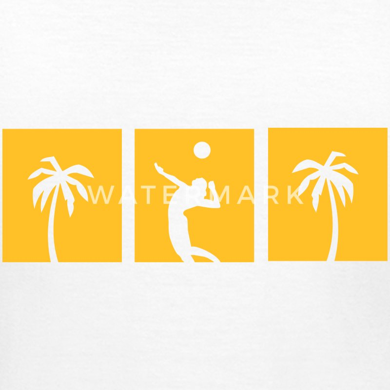 Beachvolleyball,volleyball,beach,netz,strand,sonne T-Shirts - Frauen T-Shirt