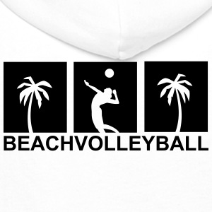 Beachvolleyball,volleyball,beach,netz,strand,sonne T-Shirts - Männer Premium Hoodie