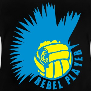 volley waterpolo punk oreille logo rebel Tee shirts - T-shirt Bébé