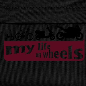 my life on wheels - Motorrad T-skjorter - Ryggsekk for barn