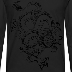 Chinese dragon by dk Sweat-shirts - T-shirt manches longues Premium Homme