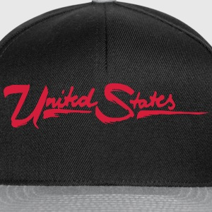 united states Tee shirts - Casquette snapback