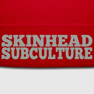 Skinhead Subculture T-Shirts - Winter Hat