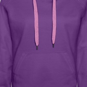 No one is alone on the camino Women's ringer T-shi - Women's Premium Hoodie