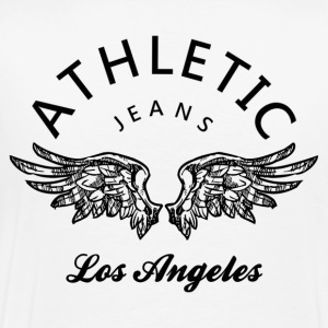 Athletic jeans los angeles Polos - T-shirt Premium Homme