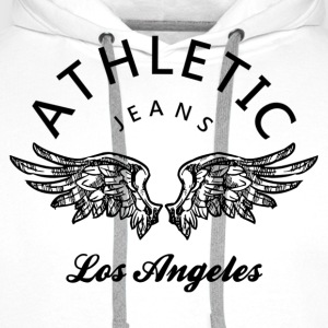 Athletic jeans los angeles Skjorter - Premium hettegenser for menn