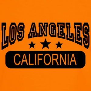 los angeles california Sweaters - Mannen contrastshirt