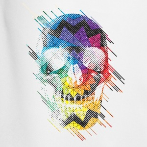 Geometric Skull T-Shirts - Men's Football shorts