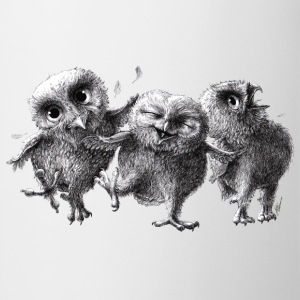 three crazy owls - Mok