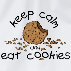 Keep calm and eat cookies T-Shirts - Turnbeutel