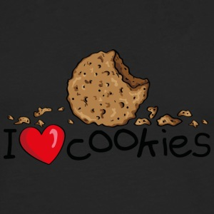 I love cookies Sweat-shirts - T-shirt manches longues Premium Homme