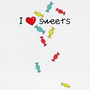 I love sweets T-Shirts - Baseball Cap