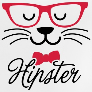 Swag hipsta hipster pussy cat animal style face Hoodies - Baby T-Shirt