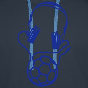 handball casque audio headphones ballon Tee shirts - Sweat-shirt à capuche Premium pour hommes