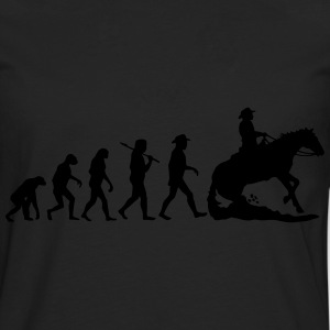 Evolution Mens Western Riding T-Shirts - Männer Premium Langarmshirt