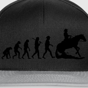 Evolution Mens Western Riding T-Shirts - Snapback Cap